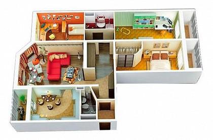 3 и 4-комнатные квартиры в Севастополе